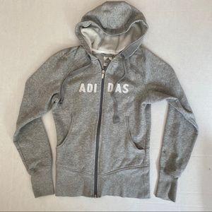 Gray Adidas Hoodie Rare! 🤍